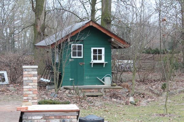 Das Teichhaus im Winter