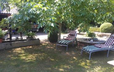 Ruheplatz im Garten