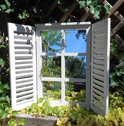Fenster, Fensterlade, Spiegel